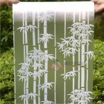 Stickerkaca motif bambu