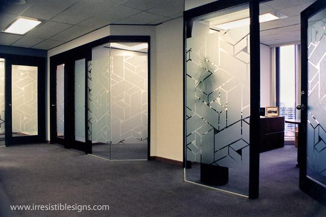 Design Cutting Sanblast Untuk Kantor maupun Gedung