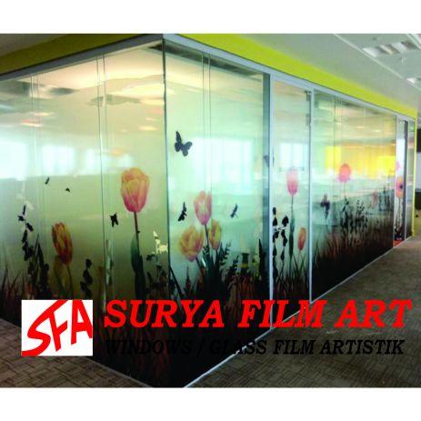 Kaca Film Jakarta Eceran, DIGITAL PRINTING SANDBLAST