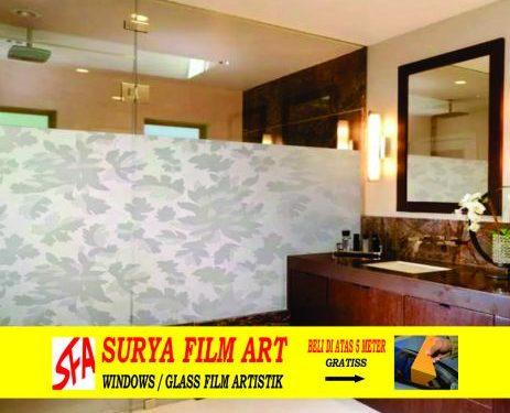 Pemasangan Kaca Film Tangerang, SANDBLAST MOTIF SFA 129