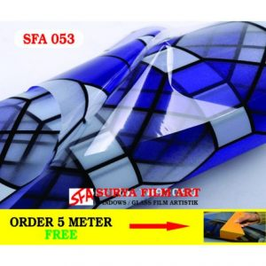 STICKER KACA MOTIF SFA053