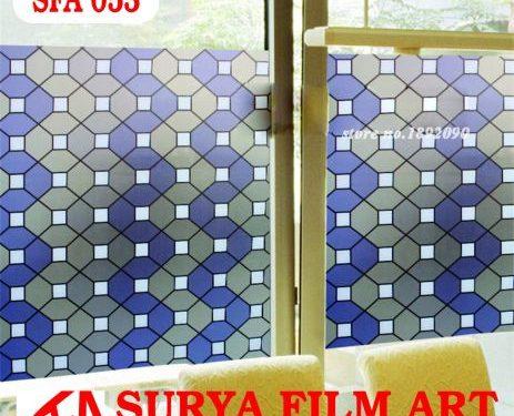 Pemasangan Kaca Film Depok, STICKER KACA MOTIF SFA053