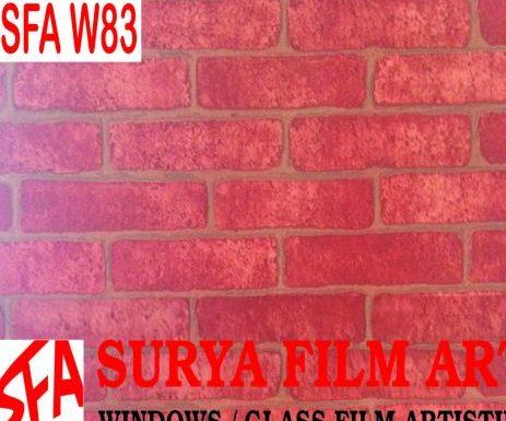 Grosir Kaca Film Tangerang, WALL STICKER MOTIF BATA