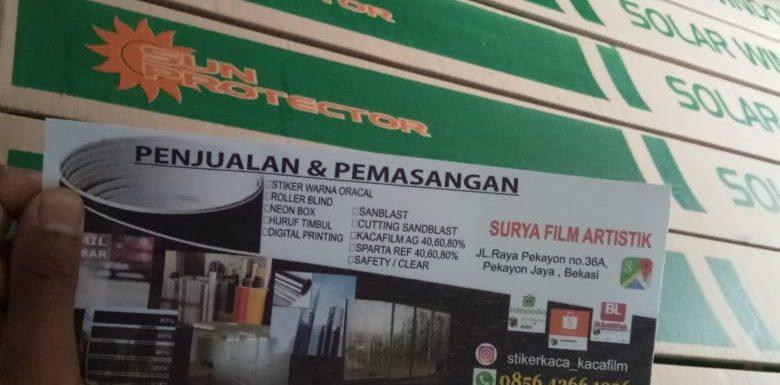 Distributor KACA FILM SUNPROTECTOR